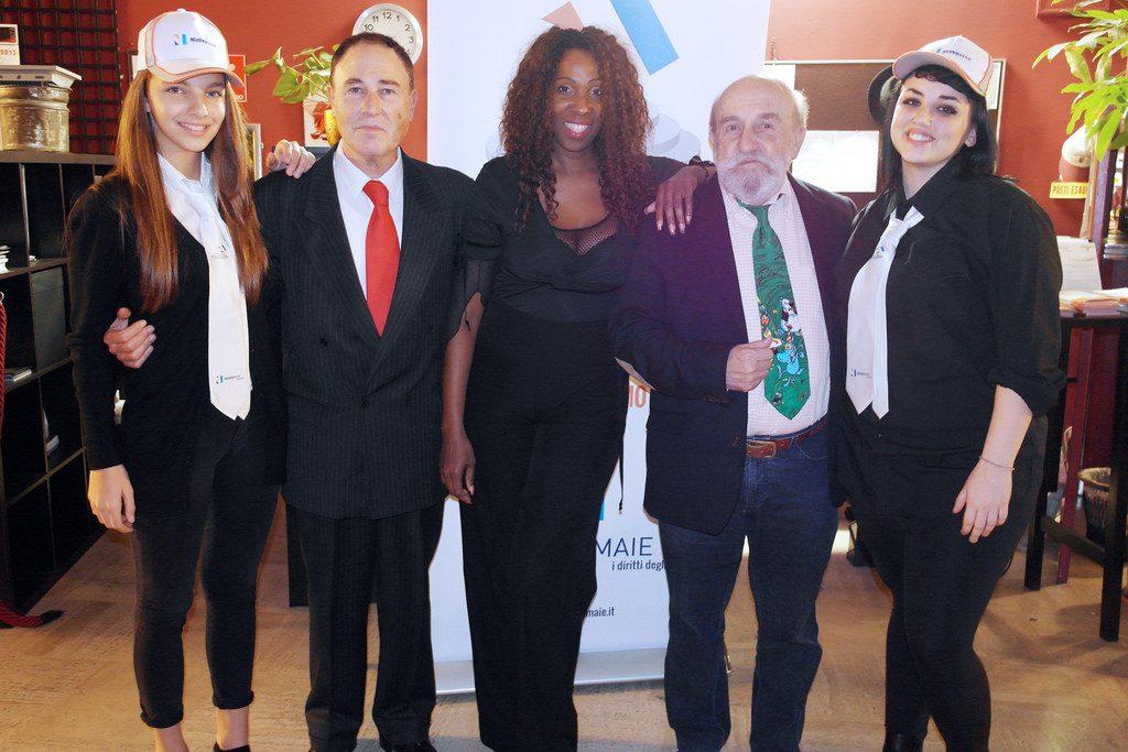 Sabino Mogavero con Enrico Beruschi e Cecilia Gayle