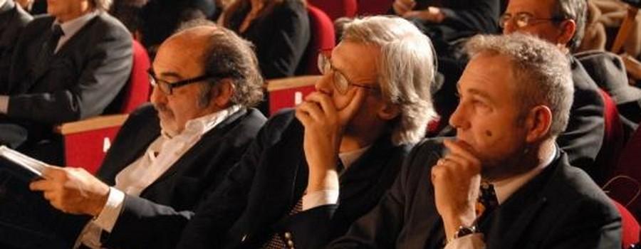 Sabino Mogavero, Vittorio Sgarbi, Alessandro Haber