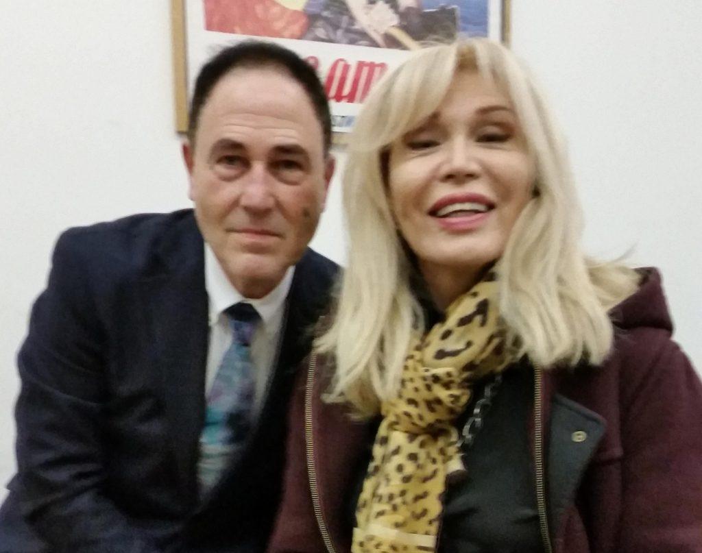 Sabino Mogavero e Amanda Lear